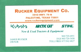 Rucker Equipment